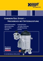191.6 KByte - Hengst GmbH & Co. KG