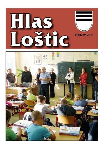 Hlas Loštic - podzim 2011 - Loštice