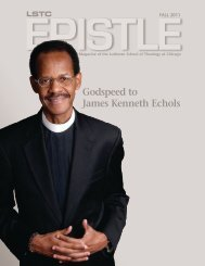 Download the magazine here - Lutheran School of Theology at ...