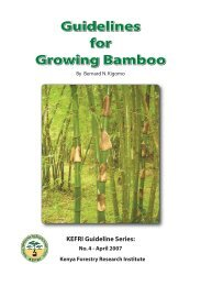 Guidelines for Growing Bamboo - Unido