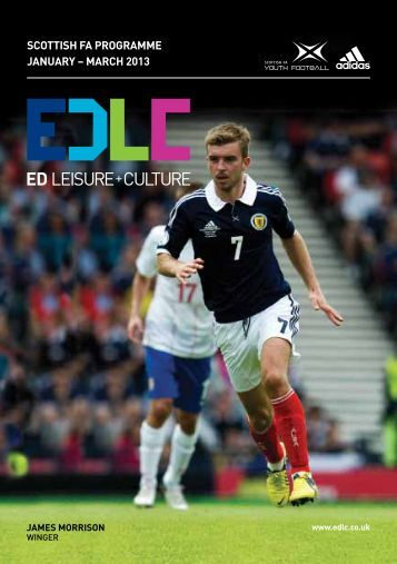 scottish fa programme january – march 2013 - East Dunbartonshire ...
