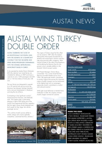 Issue 1 2006 - Austal Ships