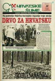 HRVATSKE ŠUME 33 (13.4.1994)