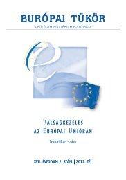 Európai Tükör 2012/02. tematikus szám