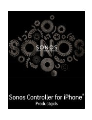 Sonos Controller for iPhone - Almando