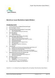 Bericht zur neuen Rechtsform Spital Affoltern - Gemeinde Hausen ...