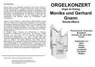 Programm - Orgelwelt Waldkirch
