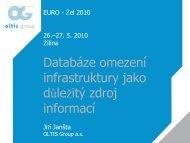 Databáze omezení infrastruktury jako důležitý zdroj ... - EURO - Žel