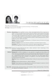 La apnea del sueño en el niño - Sociedad de Pediatría de ...
