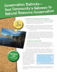 Locally Led - National Association of Conservation Districts