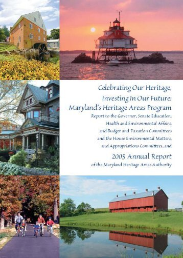 2005 Annual Report - Maryland Historical Trust