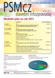 Mediální plán 2011 ke stažení - PSM CZ