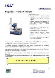 Evaporatore rotante RV 10 Digital - Seneco S.r.l.