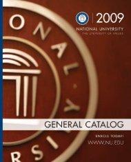 Catalog 72 - National University