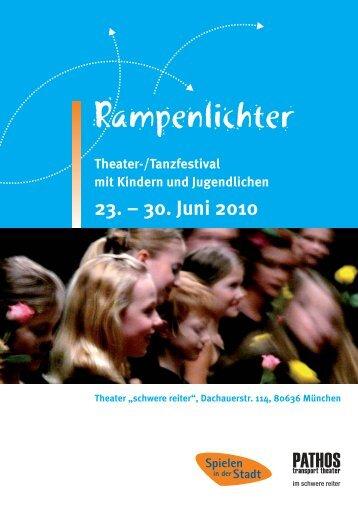 Festivalprogramm 2010 - Rampenlichter