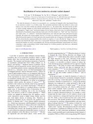Rectification of vortex motion in a circular ratchet channel - APS Link ...