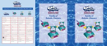Dolphin Deluxe Line Brochure - Maytronics