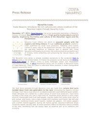 Press Release - Costa Navarino