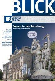 Frauen in der Forschung - Universität Würzburg