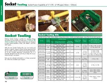 Socket Tooling - McElroy Manufacturing, Inc.