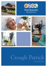 Croagh Patrick Brochure - Four Seasons Health Care