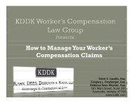 How to Manage Your Worker's Compensation Claims p