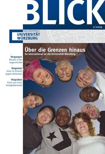 Über die Grenzen hinaus - Universität Würzburg