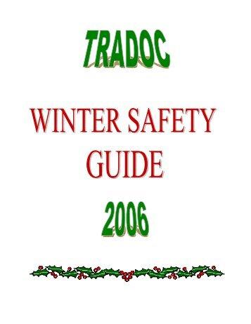 TRADOC Command Safety Office - TRADOC - U.S. Army