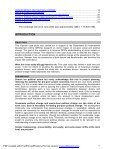 A case study of donor impact on political change at the grassroots in ... - Page 2