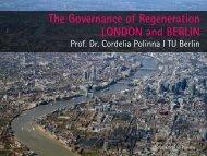 The Governance of Regeneration London and Berlin - Regional ...
