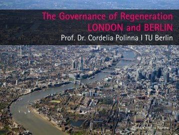 The Governance of Regeneration London and Berlin - Regional ...