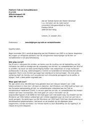 Brief aan de Kamerfracties van de Landelijke Huisartsen Vereniging ...