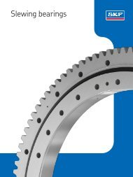 12 Other SKF slewing bearings