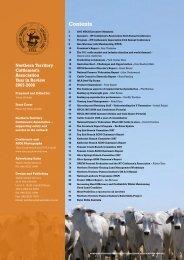 2008 NTCA Yearbook - Northern Territory Cattlemen's Association