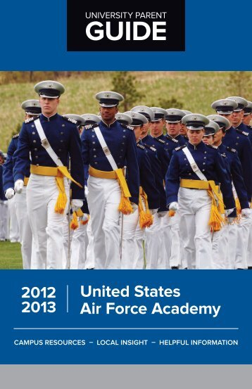 United States Air Force Academy 2012-13 - University Parent