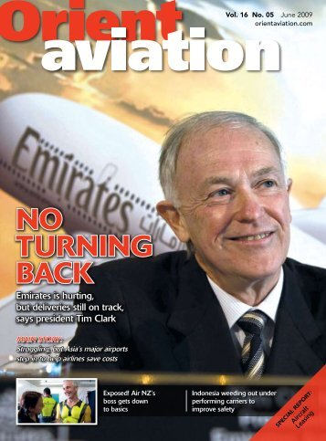 NO TURNING BACK - Orient Aviation