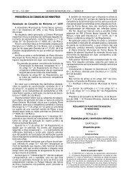 Regulamento do Plano Director Municipal de Torres Novas