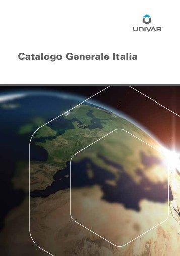 Catalogo Generale Italia - Univar