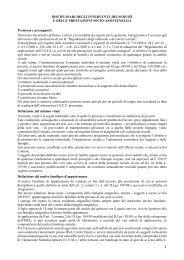Disciplinare degli interventi, dei servizi e delle prestazioni socio