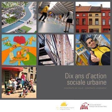 Dix ans d'action sociale urbaine