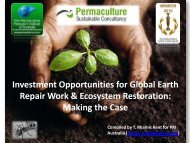 Investment Opportunities for Global Earth Repair Work & Ecosystem ...