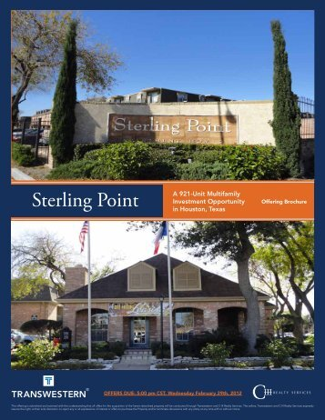 Sterling Point - Transwestern