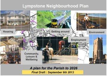 Lympstone Neighbourhood Plan Final Draft - Lympstone Village ...