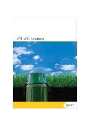 IPT LPG solutions brochure: Offerings &extra features