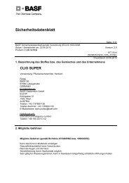 SDB Clio Super - BASF Pflanzenschutz Österreich