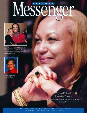 Fall 2004 (Vol. 117 No. 2) (PDF) - Spelman College: Home