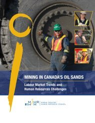 MINING IN CANADA'S OIL SANDS: Human Resources ... - MiHR