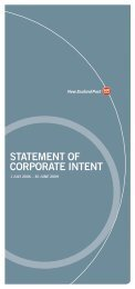 July 2006 Statement of Corporate Intent - New Zealand Post
