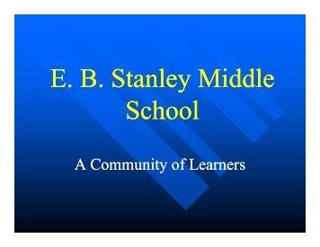 E. B. Stanley Registration