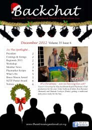 December 2012 Volume 35 Issue 6 - Nelson Repertory Theatre